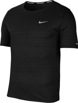 Nike Dri-FIT Miler shirt Heren Zwart