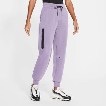Nike Sportwear Tech Fleece broek Dames Paars