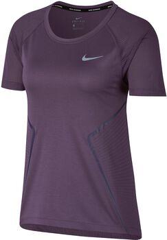 Nike Dry Miler shirt Dames Paars
