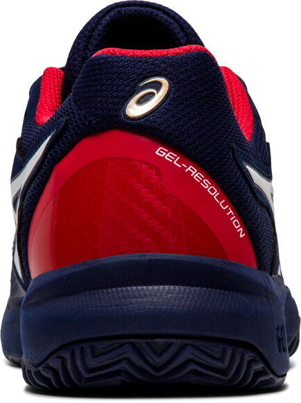 GEL-Resolution 8 Clay kids tennisschoenen