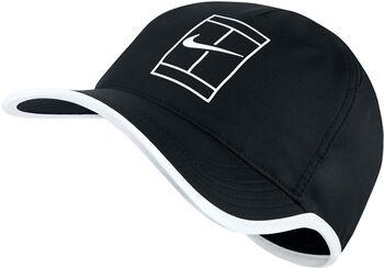 Nike Court AeroBill Featherlight Tennis cap Zwart