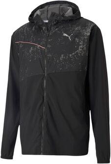 Run Graphic hoodie jas