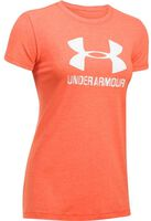 Under Armour Sportstyle Crew shirt Dames Rood