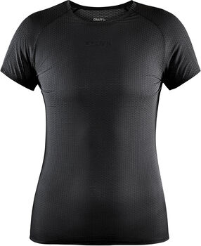 Craft Pro Dry Nanoweight SS W shirt Dames Zwart