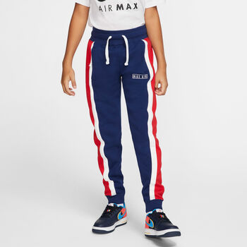 Nike Air jr broek Blauw