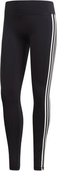ADIDAS Solid 3-Stripes tight Dames Zwart