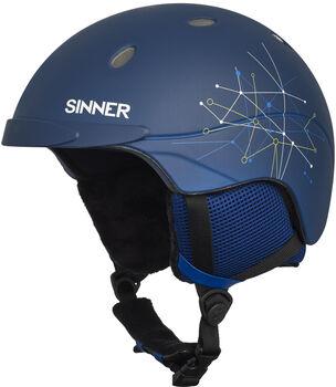 Sinner Titan skihelm Blauw