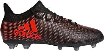 ADIDAS X17.2 FG voetbalschoenen Zwart