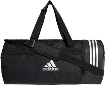 ADIDAS Convertible 3-Stripes Medium duffeltas Heren Zwart