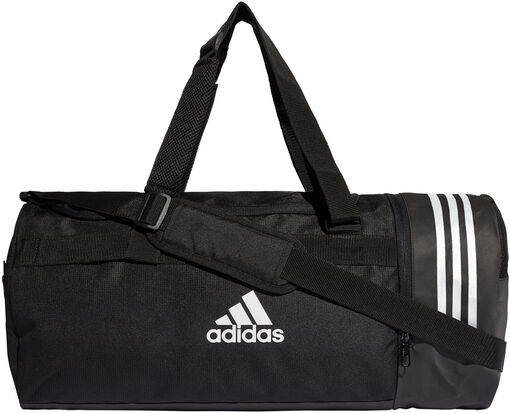 Adidas - Convertible 3-Stripes Medium duffeltas - Heren - Accessoires - Zwart - M