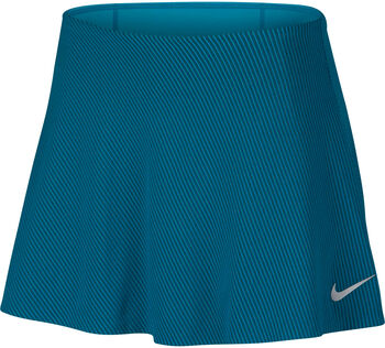 Nike Court Zonal Cooling skort Dames Blauw