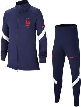 Nike Frankrijk Strike trainingspak Jongens Blauw
