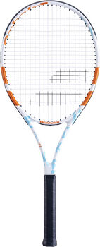 Babolat Evoke 102 Strung tennisracket Dames Wit