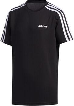 ADIDAS 3-Stripes shirt Jongens Zwart