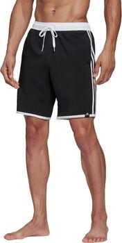 adidas 3-Stripes CLX Zwemshort Heren Zwart