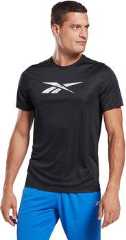 Reebok Workout Ready Graphic T-Shirt Heren Zwart