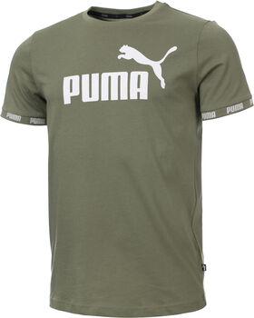 Puma Amplified Big Logo shirt Heren Groen