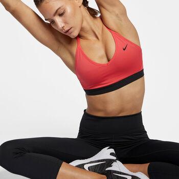 Nike Indy sportbeha Dames Oranje