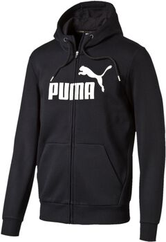 Puma Essential No. 1 FZ vest Heren Zwart