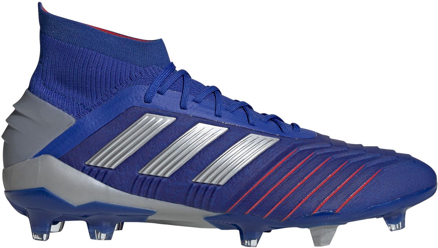 blauwe adidas voetbal schoenen