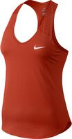 Nike Pure top Dames Rood
