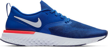f8b8cb650d3 Nike Odyssey React Flyknit 2 hardloopschoenen Heren Blauw