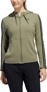 ADIDAS 3-Stripes hoodie Dames Groen