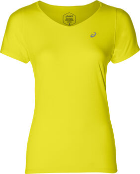 Asics V-Neck shirt Dames Geel