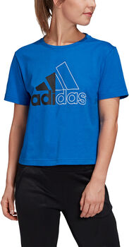 adidas Must Haves Graphic T-shirt Dames Blauw
