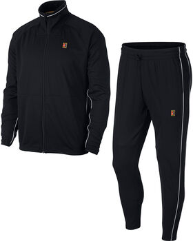 Nike Court trainingspak Heren Zwart