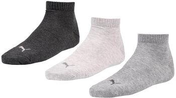 Puma Training Quarter sokken (3 paar) Grijs