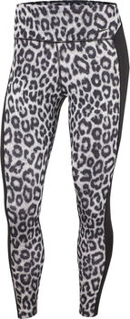 Nike One Leopard 7/8 tight Dames Wit