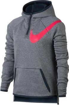 Nike Therma Training jr hoodie Meisjes Grijs