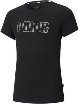 Puma Rebel shirt Meisjes Zwart