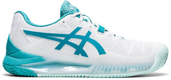 ASICS GEL-Resolution 8 Clay tennisschoenen Dames Wit