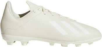 ADIDAS X 18.4 FXG jr voetbalschoenen Wit