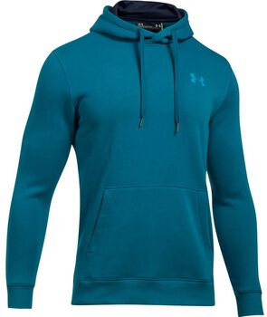 Under Armour Rival Fleece Fitted hoodie Heren Blauw