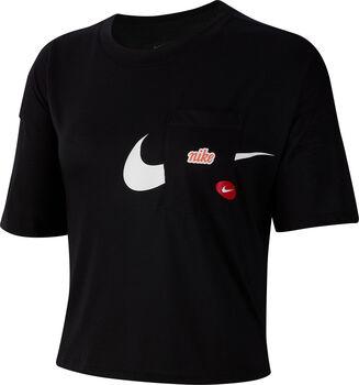 Nike Iconclash Wow shirt Dames Zwart
