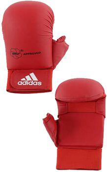 ADIDAS BOXING WKF karatehandschoenen met duim Heren Rood