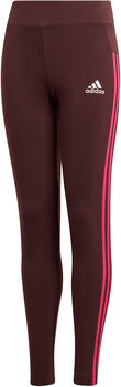ADIDAS Essentials 3-Stripes Legging Meisjes Rood
