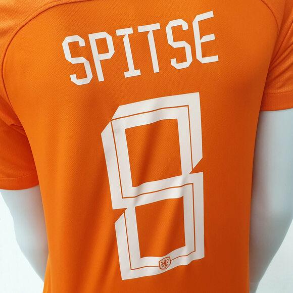 Nederland thuisshirt Spitse