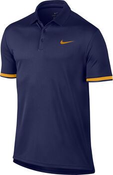 Nike Court Dry Tennis Polo  Heren Blauw