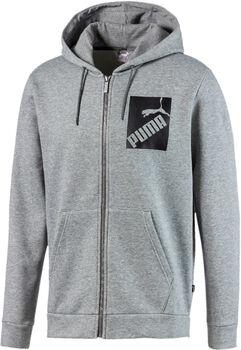Puma Big Logo hoodie Heren Grijs
