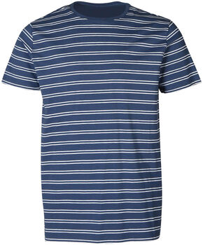 Brunotti Tim Twin Stripe t-shirt Heren Blauw