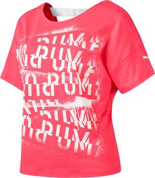Puma HIT Feel It shirt Dames Roze