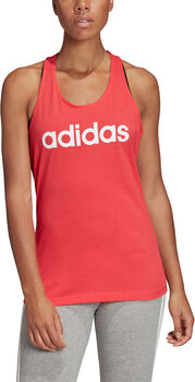 ADIDAS Linear Slim shirt Dames Roze