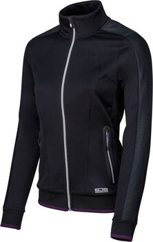 Sjeng Sports Shila Plus vest Dames Zwart