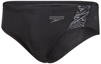 Speedo End Boom Splice Brief zwembroek Heren Zwart