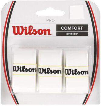 Wilson pro overgrip Wit