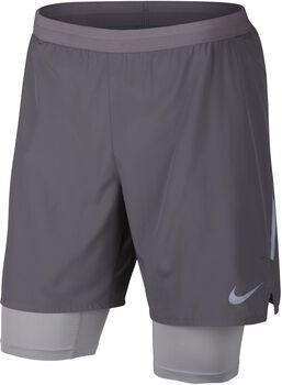 "Nike Distance 2-in-1 7"" short Heren Zwart"